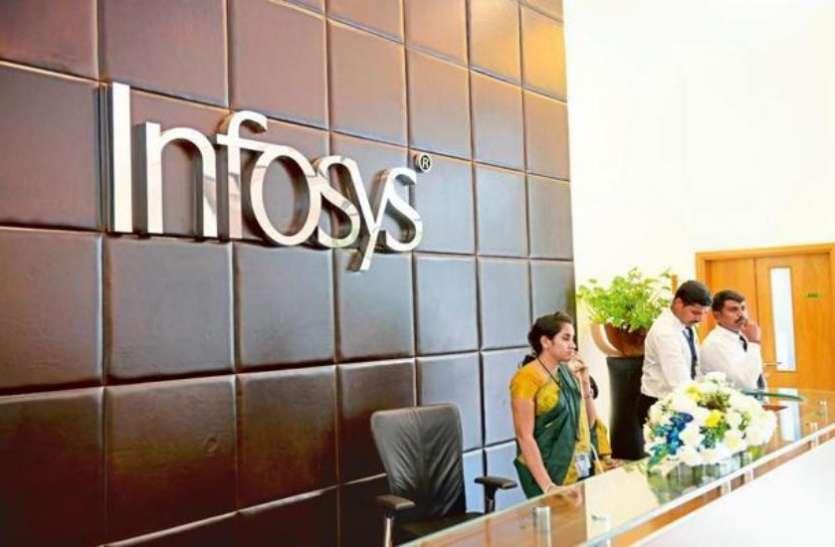 2.11 फीसदी के नुकसान के बाद भी Infosys ने किया बोनस शेयर का एेलान