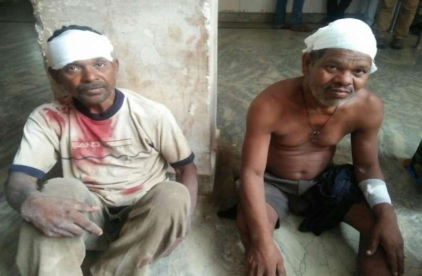 कटनी में गिरा जर्जर मकान, कई मजदूर घायल, दो की हालत गंभीर