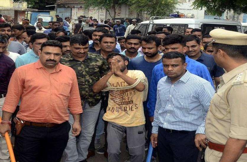मोरबी रोड पर आतंक मचाने वाला गिरफ्तार