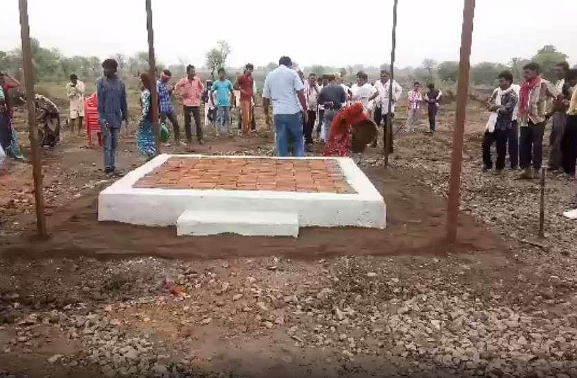 शहीद के अंतिम संस्कार के लिए गांव में बनाया नया श्मशान घाट, लग रहे पाकिस्तान मुर्दाबाद के नारे