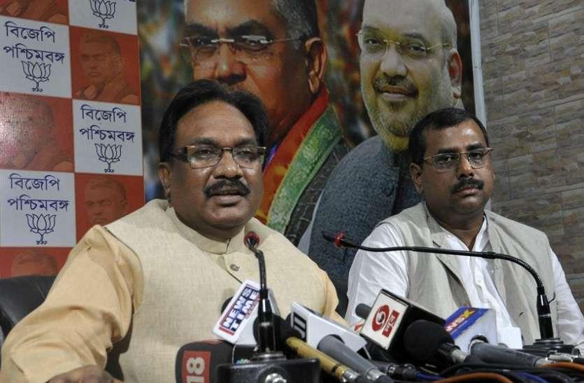 भाजपा क्यो कर रही है बंगाल में राष्ट्रपति शासन की मांग