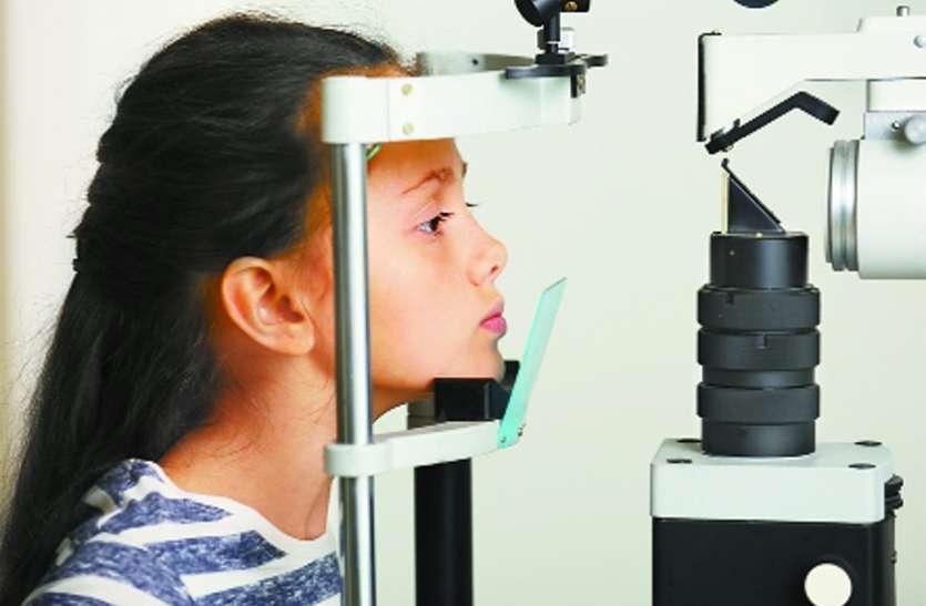 आंख में चोट से भी हो सकता है बच्चों में मोतियाबिंद