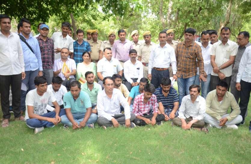 नकल गिरोह की लाइब्रेरियन डिप्लोमा परीक्षा में जयपुर-उदयपुर तक थी मिलीभगत, यूं चला रहे थे खेल