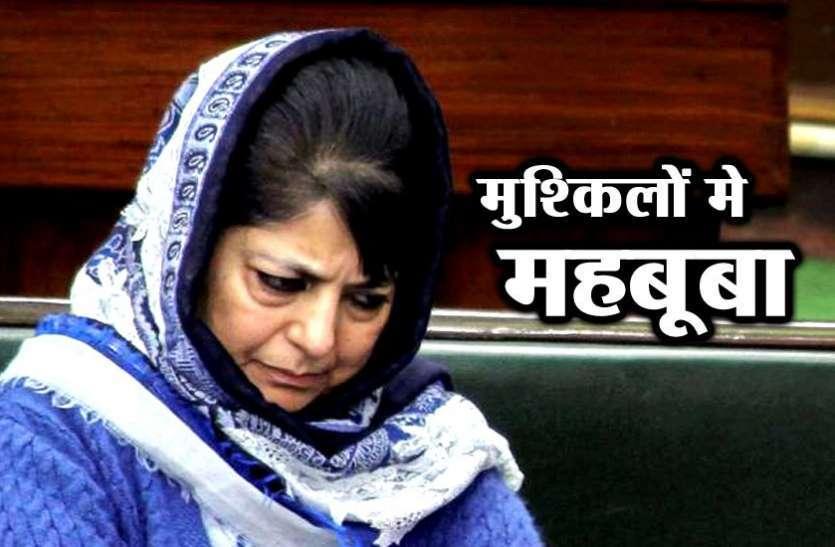 कश्मीर: सलाहुद्दीन वाली धमकी के बाद अलग-थलग पड़ीं महबूबा मुफ्ती, देशभर में तीखी प्रतिक्रिया