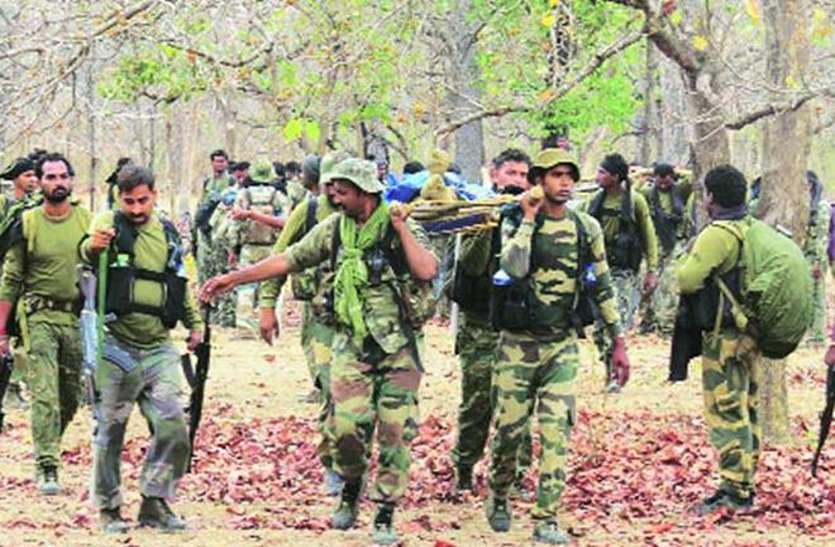 Big Breaking: सर्चिंग में निकले BSF जवान नक्सली एंबुश में फंसे, दो शहीद, दो घायल