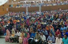 गृहमंत्री कटारिया ने उदयपुर में नव नियुक्त सफाईकर्मियों को ये नसीहत दी....