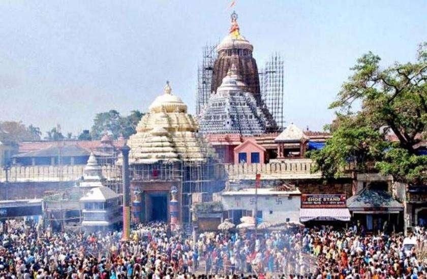 Jagannath temple in Odisha