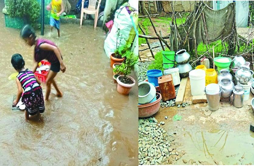 पानी से लबालब है घर-आंगन, फिर भी प्यासे हैं ग्रामीण