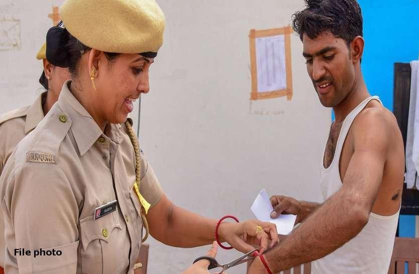 कांस्टेबल भर्ती परीक्षा : बाड़मेर में दो फर्जी परीक्षार्थी गिरफ्तार
