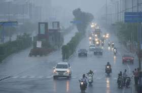PICS : शहर में कभी रिमझिम तो कभी तेज बारिश