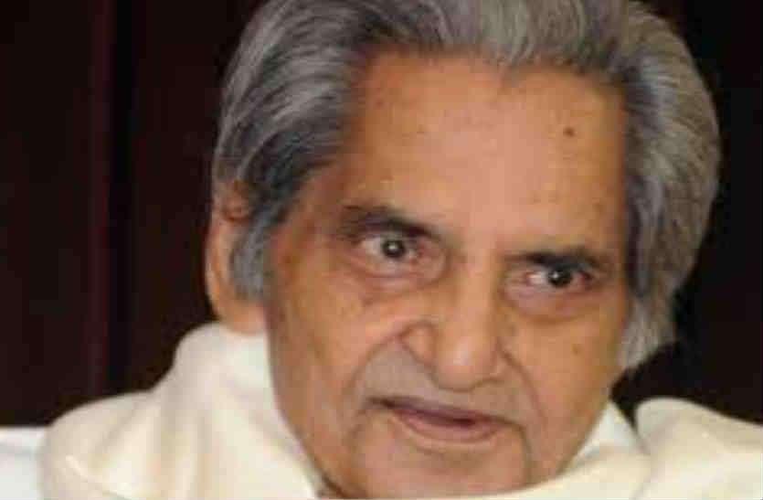 मश्हूर गीतकार और कवि गोपालदास नीरज का 93 साल की उम्र में एम्स में निधन
