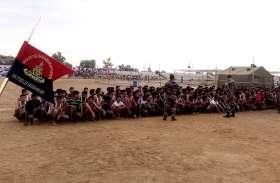 भरतपुर में सेना भर्ती रैली के पहले दिन 3671 अभ्यर्थियाें ने लिया भाग, ड्रोन से रखी जा रही नजर