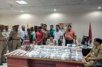 पुलिस अधीक्षक ने प्रदेश की सबसे बड़ी असलहा फैक्ट्री पकड़ी, खुले में नही घूमेगें अपराधी