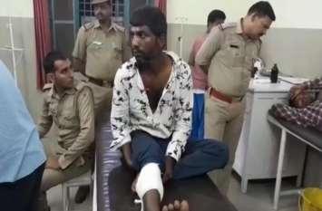 पुलिस ने इस तरह बदमाशों के मंसूबो पर फेरा पानी, मुठभेड़ में दो बदमाश गिरफ्तार