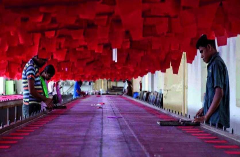 विदेशी कपड़ों पर आयात शुल्क बढ़ने से घरेलू उद्योग को मिली राहत