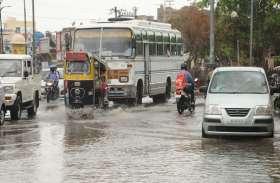 जोधपुर में एक घण्टे तक मूसलाधार, 2 इंच पानी बरसा