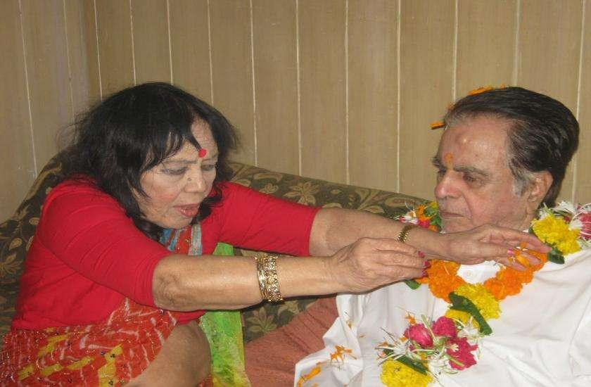 Sitara Devi with Dilip Kumar