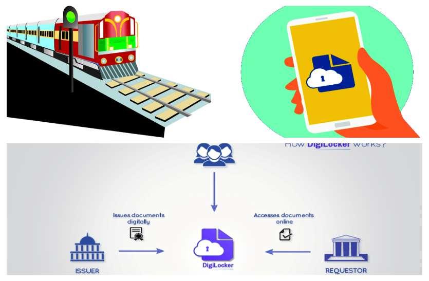 आईडी प्रूफ रखने की झंझट से मिलेगा छुटकारा, रेलवे ने डिजी लॉकर को दी मंज़ूरी