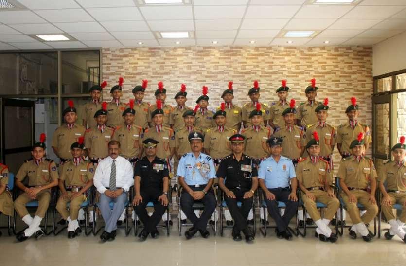 एयर वाइस मार्शल बोले, स्कूल की तैयारी का सेना में होगा प्रदर्शन तो साकार होगा सपना