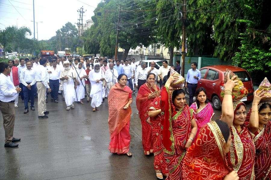 Jain saint's Mars entry