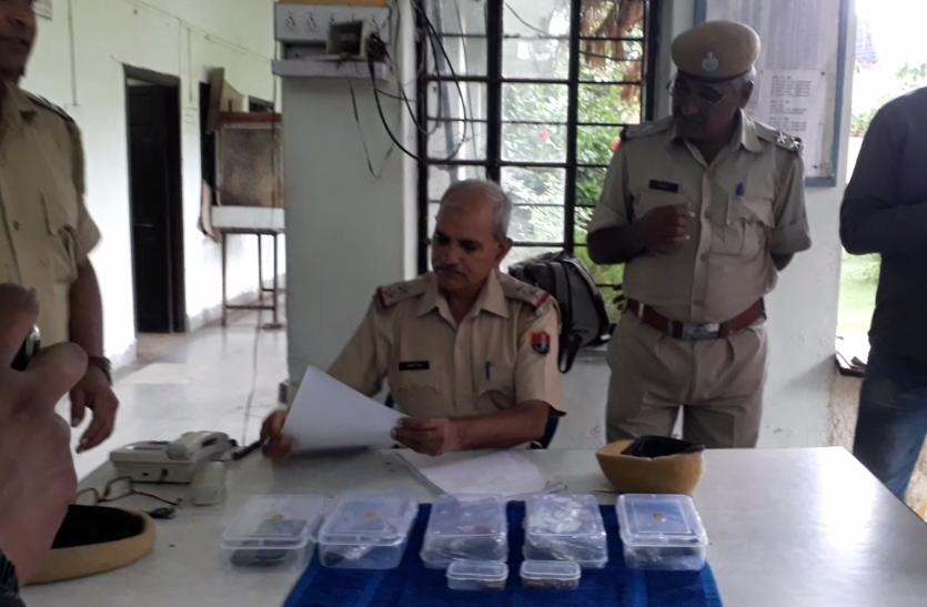 राजस्थान में हथियारों के जखीरे के साथ दो गिरफ्तार, करने जा रहे थे ये कुख्यात काम