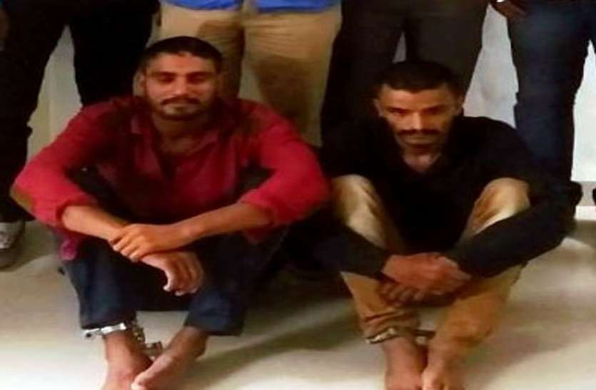 कोटडा गिरोह के दो सदस्य गिरफ्तार, चोरी की 30 बाइक जब्त