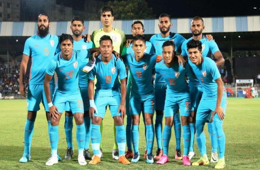 21 साल बाद चीन से फुटबॉल मैच खेलेगा भारत, रिकॉर्ड्स में मजबूत है चीन