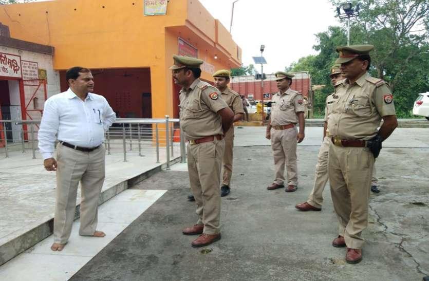 कांवड़ यात्रा से पहले सुरक्षा संबंधित तैयारियों का जायजा लेने निकले एसपी बिजनौर