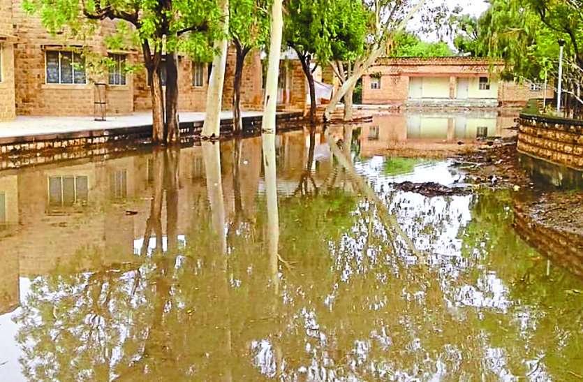 बालोतरा व क्षेत्र में हुई हल्की बारिश