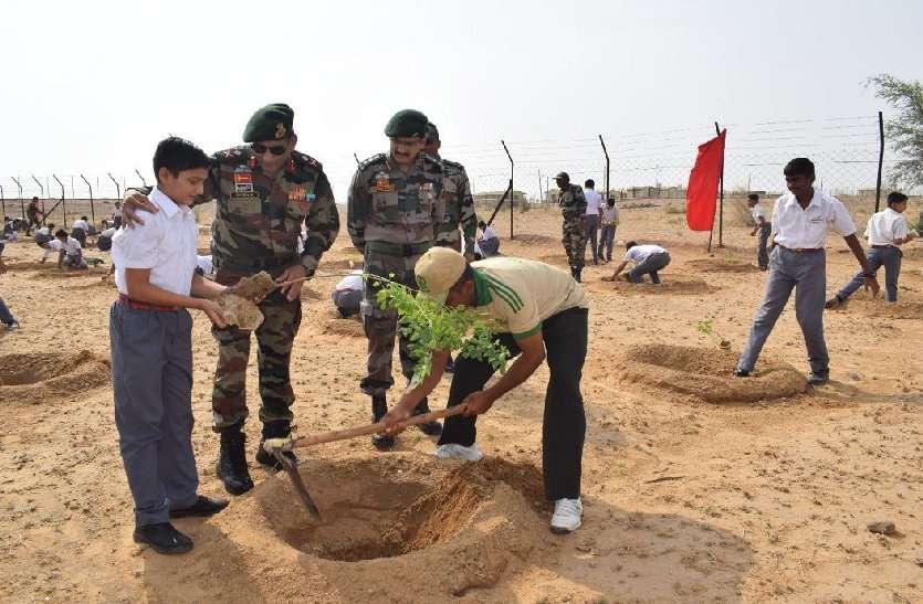 पौधरोपण, वन संरक्षण व पर्यावरण सुरक्षा की पहल