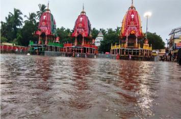 ओडिशा में भारी बारिश से जनजीवन प्रभावित,  स्कूलों में छुट्टी, विवि परीक्षाएं टली