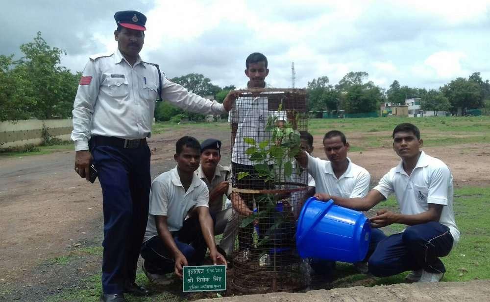 Patrika harit pradesh campaign photo and news panna district