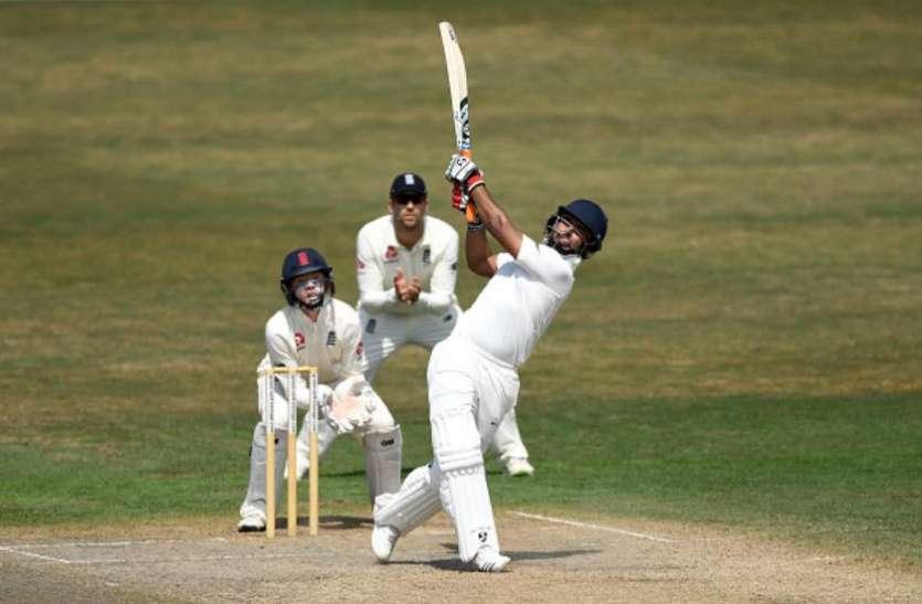 ऋषभ पंत को भारतीय टेस्ट टीम में मिला है मौका, द्रविड़ ने बांधे तारीफों के पुल