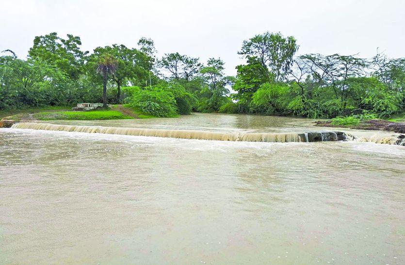 अब नहर और नाले पानी से भर गए, जगह—जगह हुआ जलभराव; डूबने लगीं निचले इलाकों की सड़कें