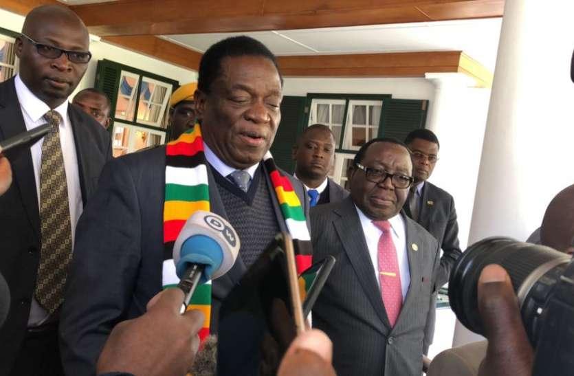 जिम्बाब्वे: चुनाव पर चढ़ते नस्लीय रंग के बीच राष्ट्रपति की अपील, राष्ट्रहित में एकता को मजबूत करें