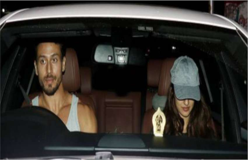 tiger shroff spotted with girlfriend disha patani on dinner date