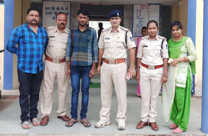 गुजरात में पकड़ाया दुराचार का आरोपी