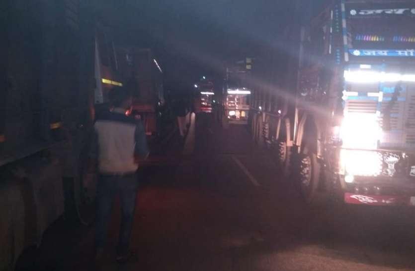 टोकन देकर ट्रकों से की जा रही वसूली, तीन हजार रुपए में दिया जाता है इंट्री टोकन