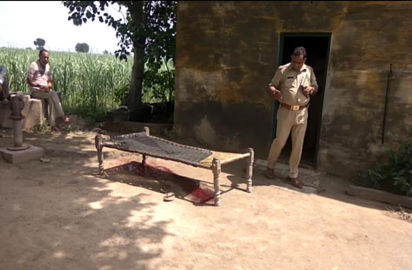 अब खेत में किसान की गोली मारकर हत्या, इलाके में फैली दहशत