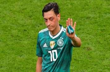 नस्लवाद के आरोपों से खिन्न जर्मनी के स्टार फुटबॉलर मेसुत ओजिल ने लिया संन्यास