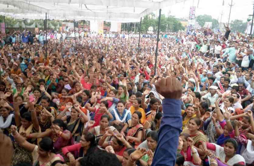 संविलियन के बाद शिक्षाकर्मियों ने अब इस मांग को लेकर जताई नाराजगी, CM बंगले का करेंगे घेराव