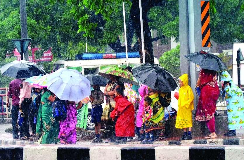 विजिबिलिटी रही एक चौथार्ई, रात से भी ठंडी हो गई दोपहर