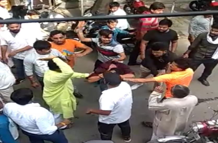 गोरक्षा के बाद अब लव जिहाद के नाम पर कोर्ट परिसर में मुस्लिम युवक पर भीड़ का हमला