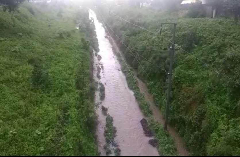 ओडिशा के रायगढ़ा जैसा पानी से लबालब हो गया छत्तीसगढ़ के इस जिले का रेलवे ट्रैक, आप भी देखें
