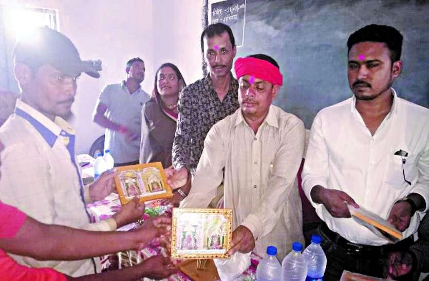 अंडी में हुआ पट्टा वितरण और प्रधानमंत्री आवास योजना के हितग्राहियों का हुआ सम्मान