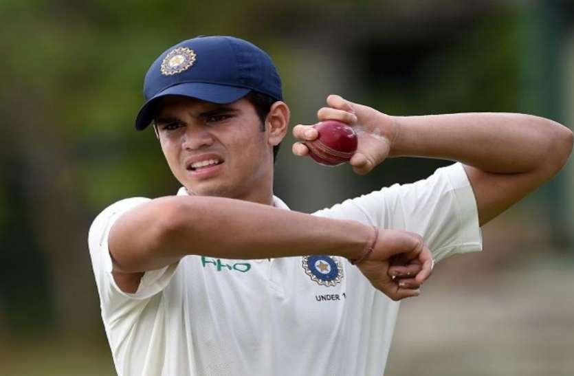अर्जुन तेंदुलकर ने टीम इंडिया के लिए फिर चटकाया विकेट, बड़ी जीत की ओर भारतीय टीम