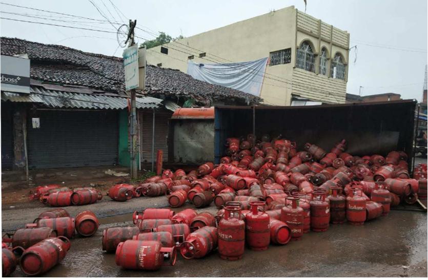 झारखंड में मूसलाधार बारिश से दौरान दुर्घटनाओं में दो जनो की मौत