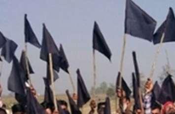 VIDEO: आखिर कांग्रेसियों ने कारगेट के सामने कुछ इस तरह कर दिया प्रदर्शन
