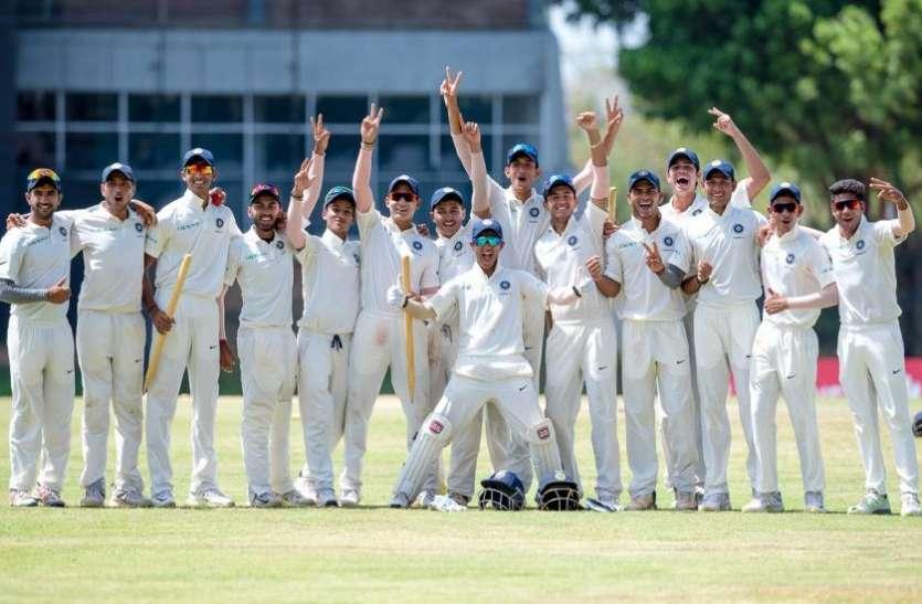 U 19 : भारतीय युवा ब्रिगेड ने श्रीलंका को पारी और 147 रनों से हराया, सीरीज पर 2-0 से जमाया कब्ज़ा