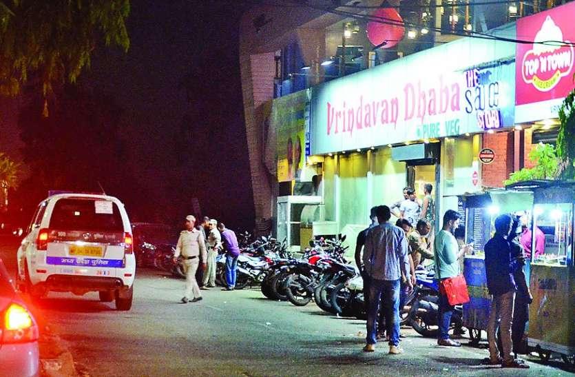 गर्ल्स हॉस्टल के नीचे शोहदों की देर रात तक महफिल, होटलों की 'पहरेदारी' में पुलिस